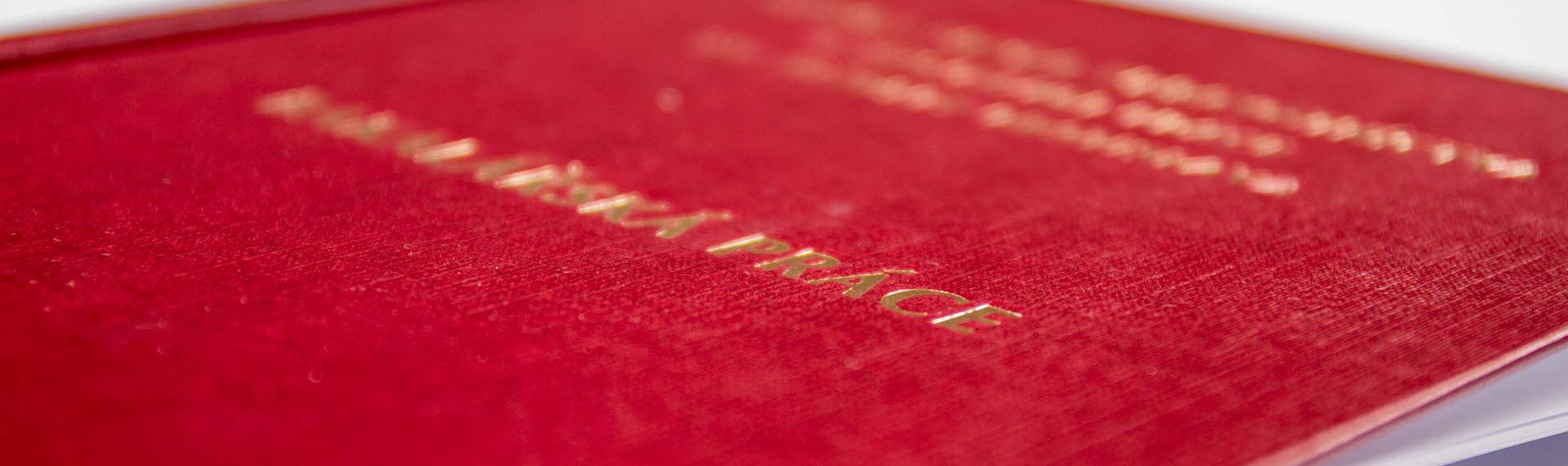 tisk diplomových prací plzeň