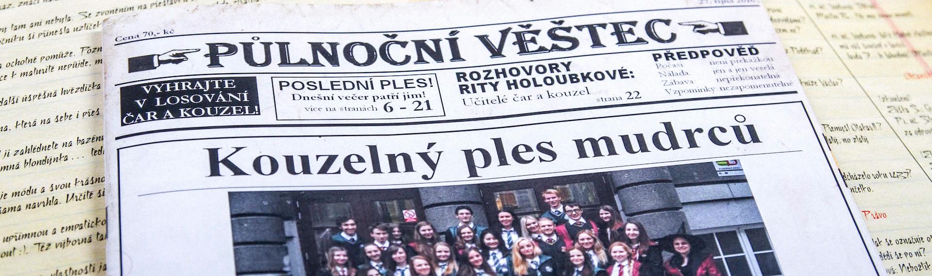 tisk maturitních novin plzeň